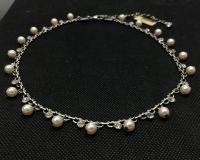 Vorschau: Konplott Pearl Shadow crystal Halskette steinbesetzt 5450527444439