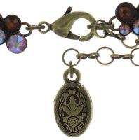 Vorschau: Konplott Inside Out Halskette in braun 5450543640846