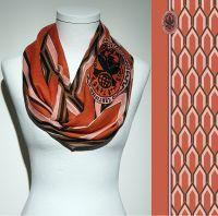 Vorschau: Konplott Schal Geometrisch 20 in orange 5450543807164