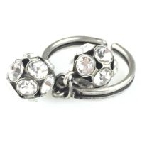 Vorschau: Konplott Disco Balls crystal Ring mit 2 Kugeln 5450527597029
