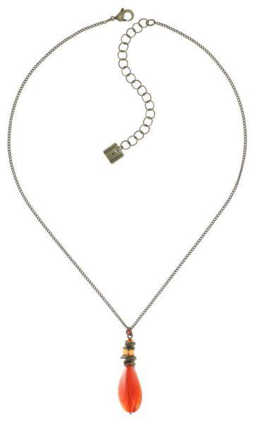 Konplott Tropical Candy Halskette mit Anhänger - Orange 5450543799926