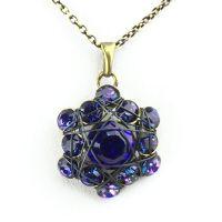 Konplott Bended Lights Halskette mit Anhänger in Violett 5450527758871