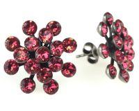 Vorschau: Konplott Magic Fireball Ohrstecker klassisch in indian pink, rot/pink 5450527767309