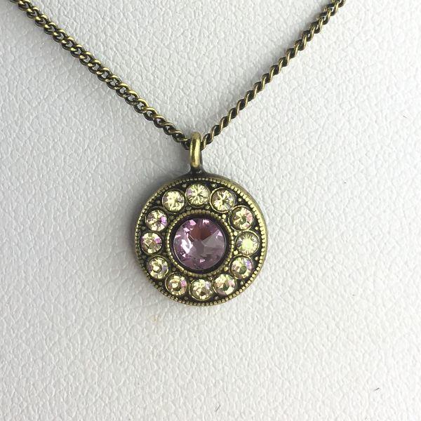 Konplott Spell on You Halskette mit Anhänger in lila 5450543627748