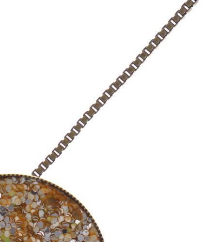 Konplott Studio 54 Halskette mit Anhänger in gold gelb Messing 5450543749129