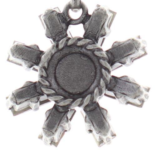 Konplott Spider Daisy Halskette mit Anhänger in weiß Größe S 5450543735719