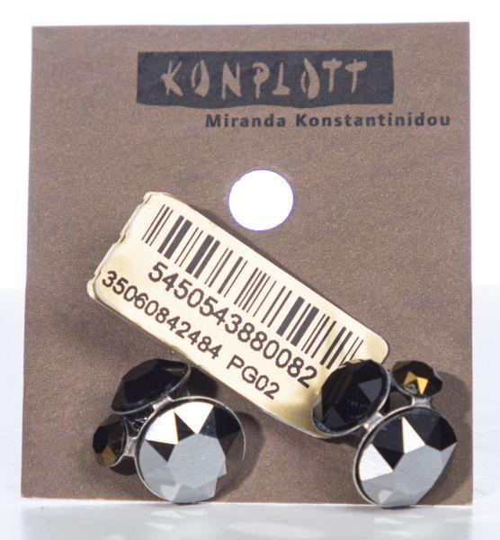 Konplott Disco Star Ohrstecker Meteor 5450543880082