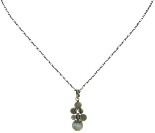Konplott Water Cascade Halskette mit Anhänger in braun/orange 5450543754413