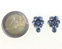 Vorschau: Konplott Magic Fireball Ohrstecker Traube in light sapphire, hellblau 5450527612074