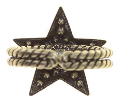 Konplott Dancing Star Ring in blau Größe M 5450543774107