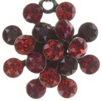 Vorschau: Konplott Magic Fireball Halskette mit Anhänger hellrot/dunkelrot mini 5450543683195
