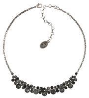 Vorschau: Konplott Water Cascade steinbesetzte Halskette in schwarz 5450543766539