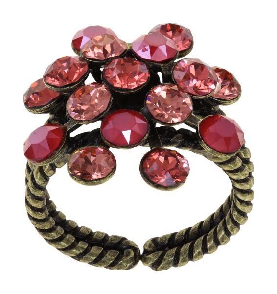 Konplott Magic Fireball Ring in coralline Classic Size 5450543903941
