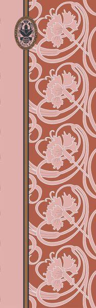 Konplott Schal Floral 20 in orange 5450543807171