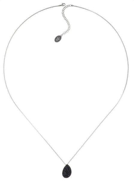 Konplott Tears of Joy Halskette (lang) in Carbon schwarz Größe L 5450543813431