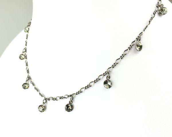 Konplott Tutui black diamond Halskette steinbesetzt 5450527610179