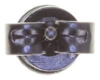 Vorschau: Konplott Black Jack Ohrstecker klassisch klein in schwarz jet hematite 5450543787633