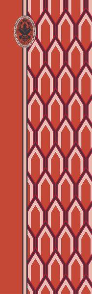 Konplott Schal Geometrisch 18 in orange 5450543807126