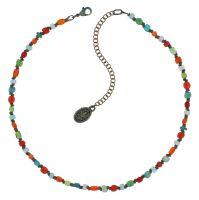 Vorschau: Konplott Petit Glamour d'Afrique Halskette in multi 5450543913810