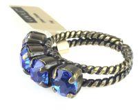 Vorschau: Konplott Colour Snake Ring in Sapphire, blau 5450527129091