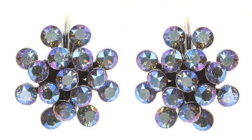Konplott Magic Fireball Ohrhänger in blue black diamond shimmer mini 5450543914770