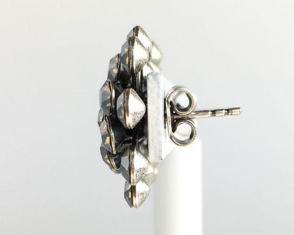 Konplott Magic Fireball Ohrstecker klassisch in light grey opal 5450527767392