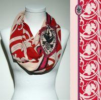 Vorschau: Konplott Schal Floral 10 in rosé/rot 5450543806969