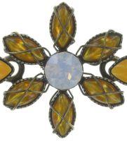 Vorschau: Konplott Psychodahlia Armband in gelb Messing 5450543730967