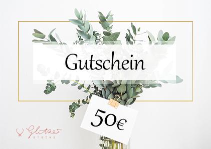 Glitzerstücke 50€ Gutschein - Konplott bei Glitzerstücke GSGS50