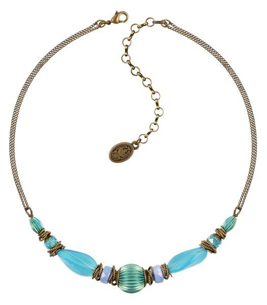 Konplott Tropical Candy Halskette in mixed water blues 5450543799612