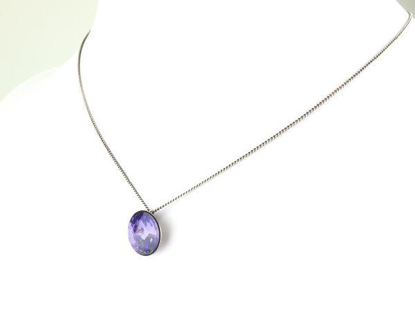 Konplott Rivoli lila Halskette mit Anhänger 5450527613002