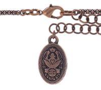 Vorschau: Konplott Graphic Flow Halskette in pink antique 5450543865829
