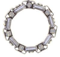 Vorschau: Konplott Industrial Ohrringe hängend in opal weiß 5450543853963