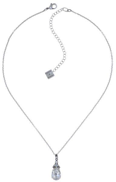 Konplott Cathedral Halskette mit Anhänger in weiß 5450543748061