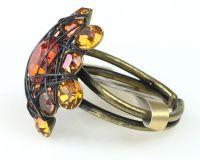 Vorschau: Konplott Bended Lights Ring in Orange/ Gelb 5450527760003