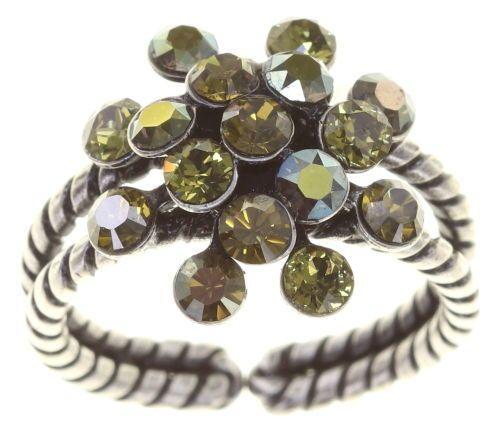 Konplott Magic Fireball Ring Olivia Green mini 5450543813721