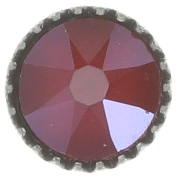 Konplott Black Jack Ohrstecker klassisch klein in rot crystal royal red 5450543723921