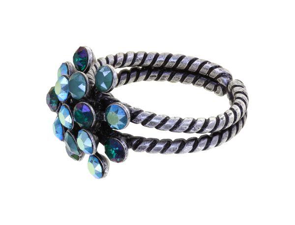 Konplott Magic Fireball Ring Emerald On Fire in mini 5450543936789