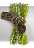 Vorschau: Konplott Petit Glamour d'Afrique Armband in grün antique 5450543856698