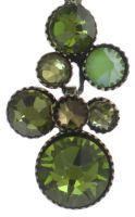 Vorschau: Konplott Water Cascade Halskette mit Anhänger in grün 5450543754239