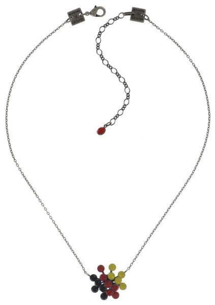 Konplott Magic Fireball Halskette mit Anhänger Deutschlandfarben klassisch 5450543666914