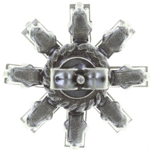 Konplott Spider Daisy Ohrstecker in weiß Größe S 5450543735825