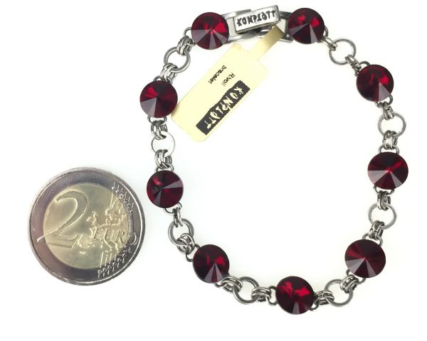 Konplott Rivoli rotes Armband verschließbar 5450527612814