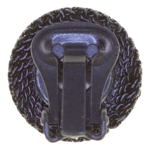 Konplott Rock 'n' Glam Ohrclip in black gun metal 5450543777894