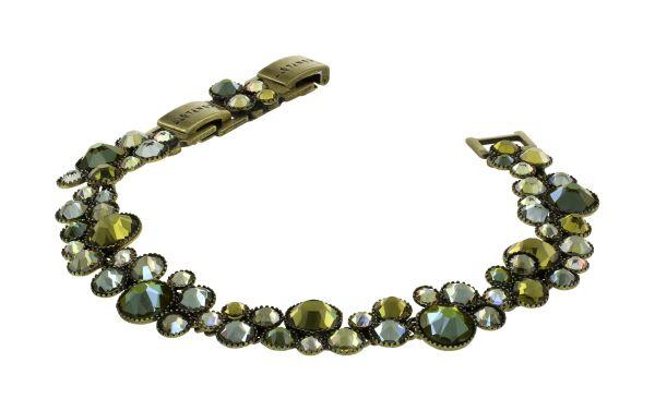 Konplott Water Cascade Armband Olive Herbs 5450543938073