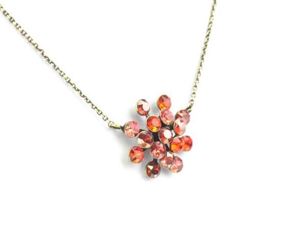 Konplott Magic Fireball Halskette mit Anhänger in multi rot 5450543222127