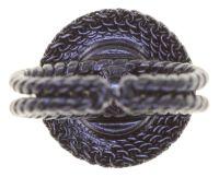 Vorschau: Konplott Rock 'n' Glam Ring in black gun metal 5450543777924