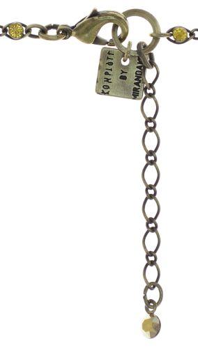Konplott Magic Fireball Armband Mini in golden yellow 5450543797687