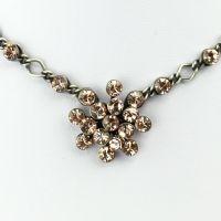 Vorschau: Konplott Magic Fireball Halskette steinbesetzt mit Anhänger in vintage rose 5450527611923