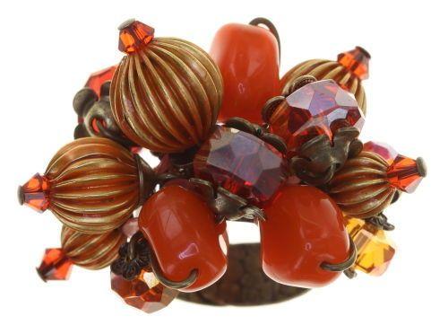 Konplott Tropical Candy Ring - Orange 5450543799971